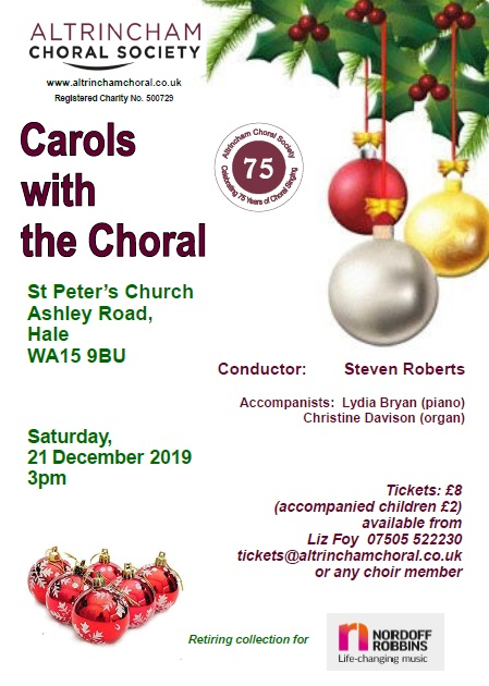 ACS Carols with the Choral 2019