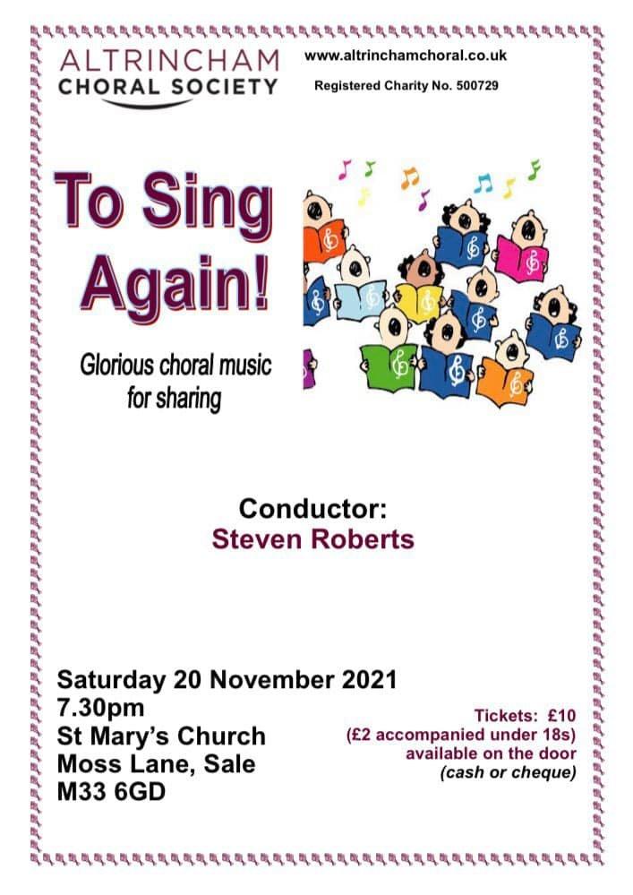 ACS 20 Nov 21 concert poster